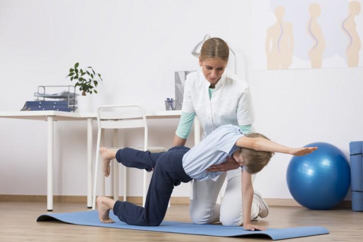 Cvičení s fyzioterapeutem